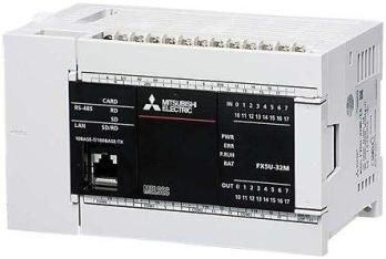 兰州三菱PLC模块可编程控制器FX5U-64MR