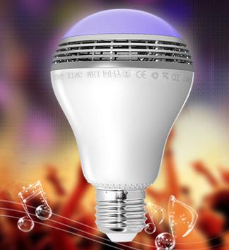 智能音响灯泡采用双模蓝牙设计兼容性更强拥有智能APP远程控制