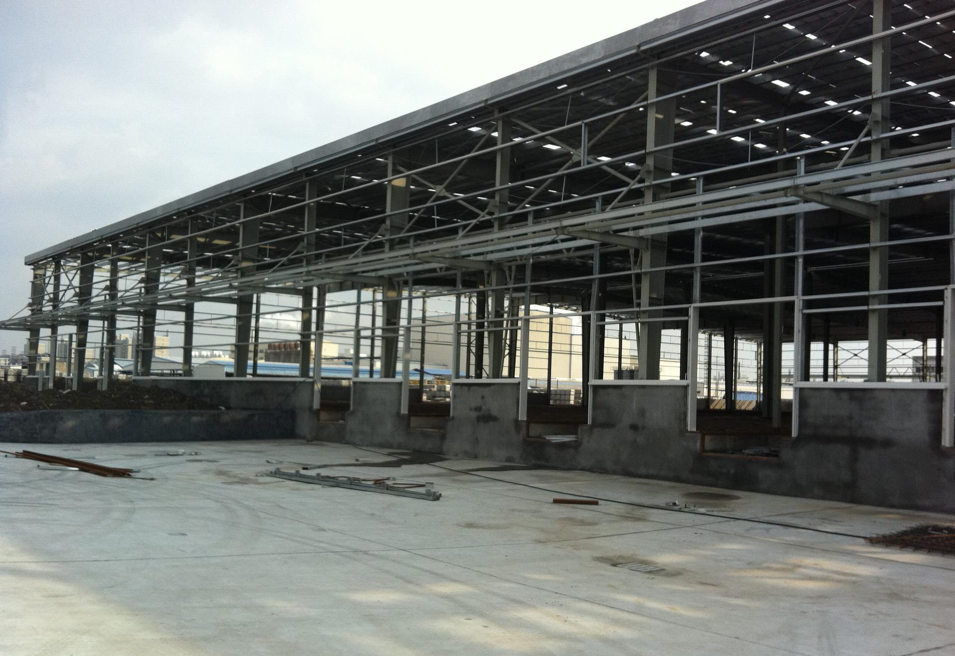 永州钢结构厂房 钢结构厂房特点