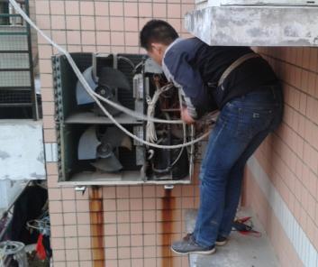 东西湖区空调移机安装加氟
