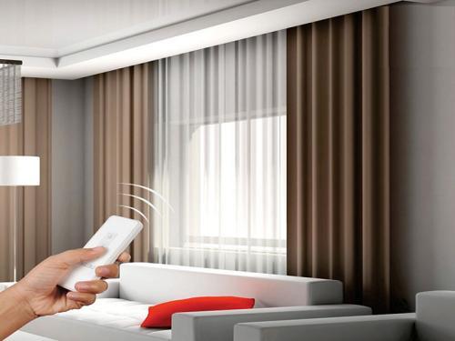 昆明家装电动窗帘