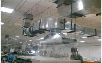 长沙厨房排烟罩安装_专业制作、设计、安装