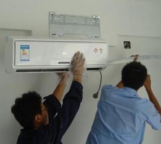 马鞍山专业空调安装加氟 空调清洗保养