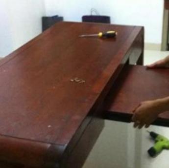 深圳红木家具维修保养红木办公家具维修
