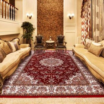 武汉地毯定制真丝地毯
