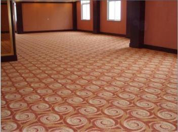 武汉地毯定制地毯铺装的方法