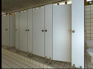 茂名卫生间隔断获得客户一直好评