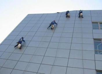 惠州外墙清洗应该具备的条件