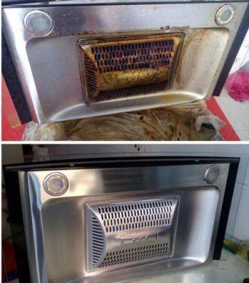 南昌油烟机清洗 厨房排油烟设备清洗