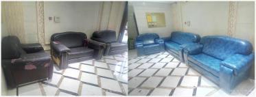 宜宾皮沙发换皮维修 免费上门看活测量尺寸