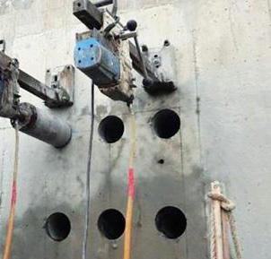 惠州诚信专业打孔施工过程噪音低