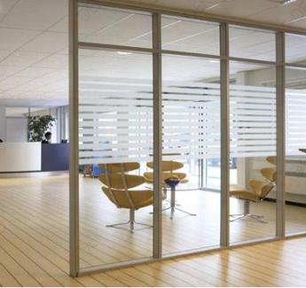 天河区办公室玻璃隔断安装