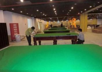 漯河台球桌定做台球桌主要的组成部件