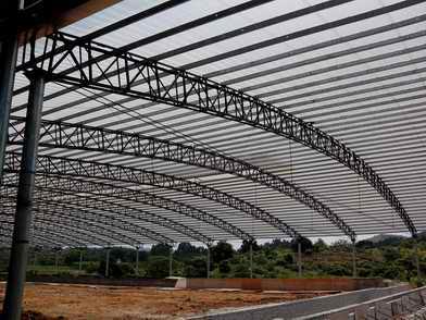 深圳永兴隆大型钢结构工程安装