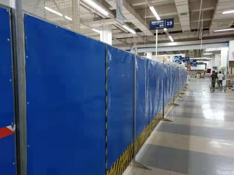 北京星坤围挡厂家产品应用领域和注意事项