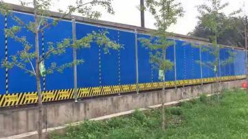 北京彩钢围挡租赁产品质量可靠