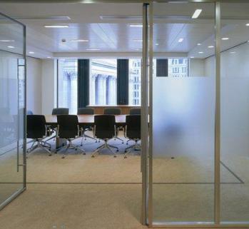 武汉设计安装办公室玻璃隔断