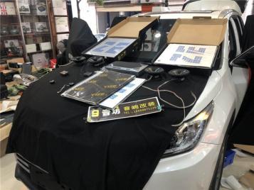 昆明汽车音响隔音 专业音箱为什么总是高音