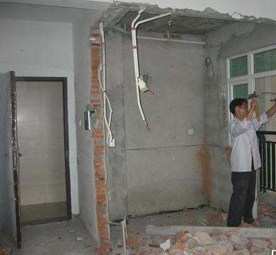 贵阳专业室内墙体拆除