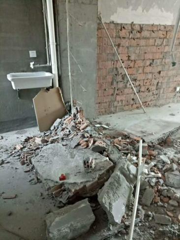 贵阳墙体拆除