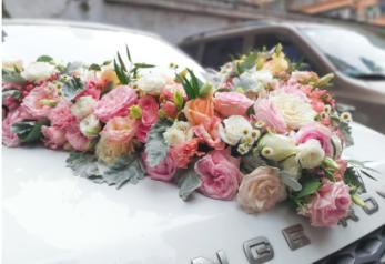 南宁预定鲜花  婚车装饰