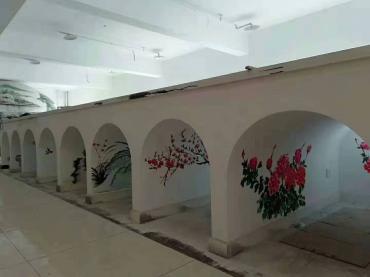 慈溪文化墙材料制作工程桩选择丙烯颜料有哪些特性