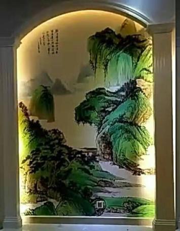 余姚高档墙绘壁画文化墙