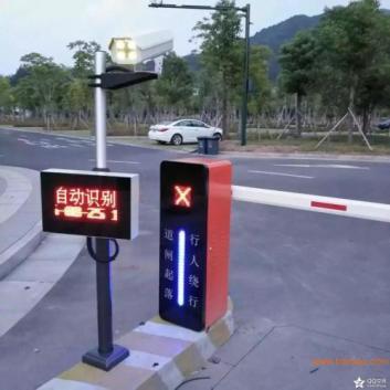 识别车牌系统帮助停车场快速出入