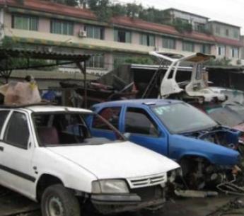 广州回收各种型号的报废车