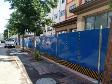 北京海淀区彩钢围挡出租公司