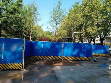 北京彩钢围挡出租样式尺寸均可定做