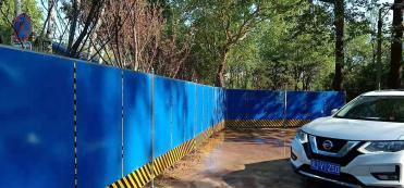 北京夹芯板围挡出租产品可循环使用