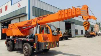 南昌吊车出租为客户提供安全优质方便的服务