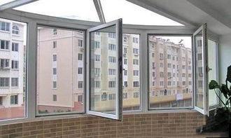 断桥铝门窗的主要分类