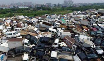 南京高价报废车回收报废流程