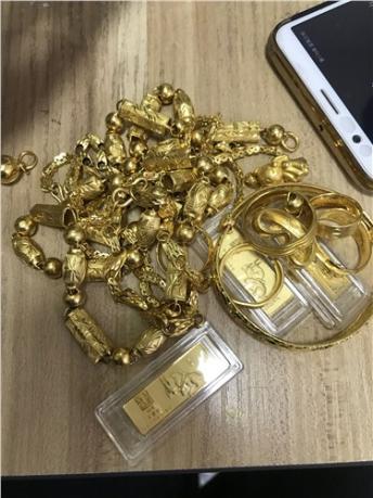 巢湖黄金首饰上门回收