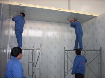 南宁冷库安装库体结构