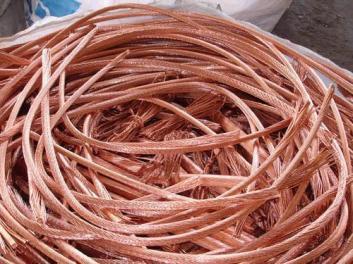 废铜回收后进行分类的方法