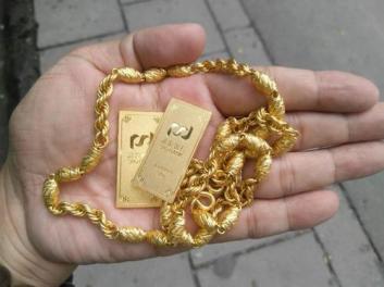 中山附近黄金回收,常见的含金量标记