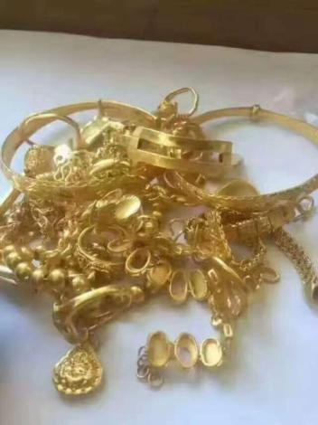中山附近黄金回收,黄金首饰的接触变色