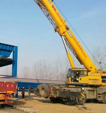 珠海吊车出租-机械吊装 机器移位定位 工厂搬迁