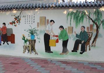 南京墙体彩绘质优价低
