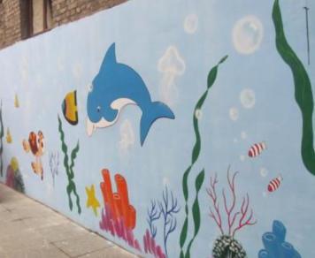 南京墙体彩绘|南京手绘壁画
