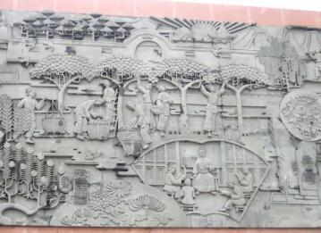 南京景观雕塑墙体彩绘