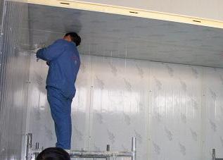 漳州组合式冷库施工
