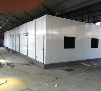 冷库安装工程进行时应当考虑四点防火措施