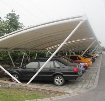 慈溪膜结构停车棚制作