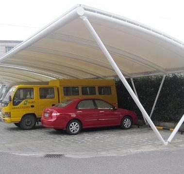 慈溪停车棚|膜结构车棚