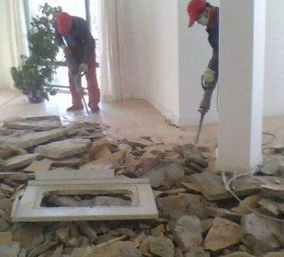 新郑专业砸墙砖地砖