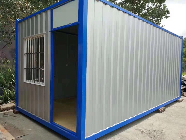 住人集装箱活动房的优点和用途